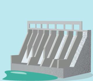 传统大水电